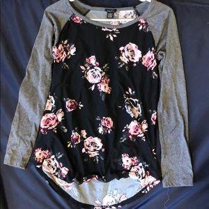 Flowery print shirt